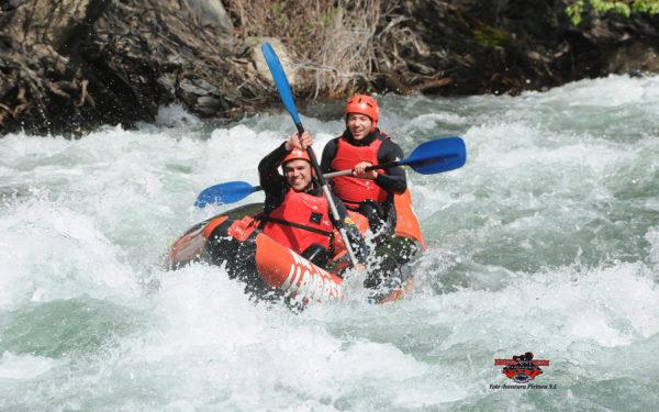 Alta Ruta Aventura ofereix descensos amb canoes de riu