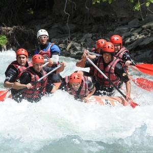 Rafting en el Pallars Sobirà