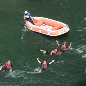 Rafting en Sort
