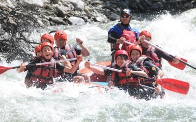 rafting pallars